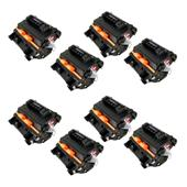 Compatible Eight Pack HP 81X High Capacity Laser Toner Cartridges