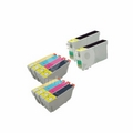 999inks Compatible Multipack Epson T0321/4 2 Full Sets + 2 FREE Black Inkjet Printer Cartridges
