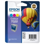 Epson T020 Colour Original Ink Cartridge (Hot Ait Baloon) (T020401)