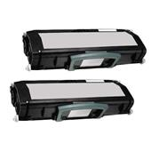Compatible Twin Pack Dell 593-10501 Black Laser Toner Cartridges