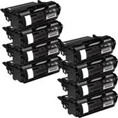 999inks Compatible Eight Pack Dell 593-11049 Black High Capacity Laser Toner Cartridges