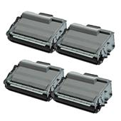 999inks Compatible Quad Pack Brother TN3520 Black High Capacity Laser Toner Cartridges