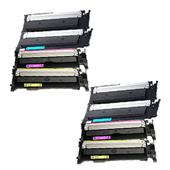 Compatible Multipack HP 117A 2 Full Sets Standard Capacity Toner Cartridges