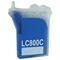 999inks Compatible Brother LC800C Cyan Inkjet Printer Cartridge