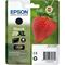 Epson 29XL (T29914010) Black  Original Claria Home High Capacity Ink Cartridge (Strawberry)