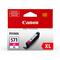 Canon CLI-571MXL Magenta Original High Capacity Ink Cartridge