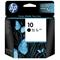 HP 10 Black Original Inkjet Cartridge (C4844A)