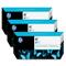 HP 91 Cyan OriginalInk Cartridge with Vivera Ink 3 Pack (C9483A)