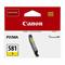 Canon CLI-581Y Yellow Original Standard Capacity Ink Cartridge