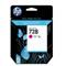 HP 728 Magenta Original High Capacity Ink Cartridge (F9J66A)