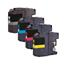 Compatible Brother LC123 BK/C/M/Y Ink Cartridge Multipack