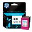 HP 300 Tri-Colour Original Ink Cartridge with Vivera Ink (CC643EE)