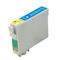 999inks Comatible Cyan Epson 603 Standard Capacity Inkjet Printer Cartridge