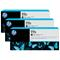 HP 771C Matte Black Original 3 Ink Multipack (B6Y31A)