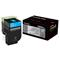 Lexmark 700H2 Original Cyan High Capacity Toner Cartridge (70C0H20)