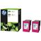 HP 301XL (D8J46AE) Tri-Colour Original Ink Cartridge- Twin Pack