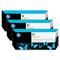 HP 91 Yellow OriginalInk Cartridge with Vivera Ink 3 Pack (C9485A)