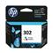 HP 302 Tri-Colour Original Standard Capacity Ink Cartridge (F6U65AE)