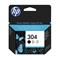 HP 304 Black Original Standard Capacity Ink Cartridge (N9K06AE)