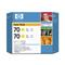 HP 70 Yellow InkOriginal Cartridge ( Twin Pack) (CB345A)