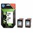 HP 338 BlackTwinpack Original Inkjet Print Cartridge with Vivera Inks (CB331EE)