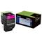 Lexmark 702HM Original Magenta High Capacity Return Program Toner Cartridge (70C2HM0)