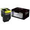Lexmark 700H4 Original Yellow High Capacity Toner Cartridge (70C0H40)