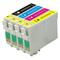 Epson T1285 Multi Pack (Cyan-Magenta-Yellow-Black) Replacement Ink Cartridge