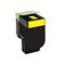 999inks Compatible Yellow Lexmark 80C2SY0 Standard Capacity Laser Toner Cartridge
