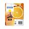 Epson 33 (T33444010) Yellow Original Claria Premium Standard Capacity Ink Cartridge (Orange)