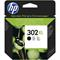 HP 302XL Black Original High Capacity Ink Cartridge (F6U68AE)