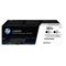 HP 201X Black Original High Capacity Toner Cartridge - Twin (CF400XD)