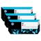 HP 91 Magenta OriginalInk Cartridge with Vivera Ink 3 Pack (C9484A)
