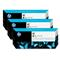 HP 91 Black Original MatteInk Cartridge with Vivera Ink 3 Pack (C9480A)