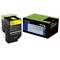 Lexmark 702Y Original Yellow Return Program Toner Cartridge (70C20Y0)