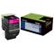 Lexmark 702M Original Magenta Return Program Toner Cartridge (70C20M0)
