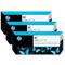 HP 91 Black Original Photo Ink Cartridge with Vivera Ink 3 Pack (C9481A)