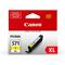 Canon CLI-571YXL Yellow Original High Capacity Ink Cartridge