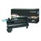 Lexmark C792X1KG Original Black High Capacity Return Program Toner Cartridge