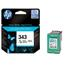 HP 343 Tri-Colour Original Inkjet Print Cartridge with Vivera Inks (C8766EE)