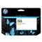 HP 745 Yellow Original Standard Ink Cartridge (F9J96A)