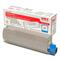 OKI 43324423 Cyan Original Toner Cartridge
