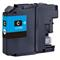 999inks Compatible Brother LC12EC Cyan Inkjet Printer Cartridge